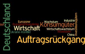 Auftragsrückgang in Deutschland