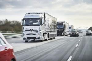 Daimler LKW vernetzt