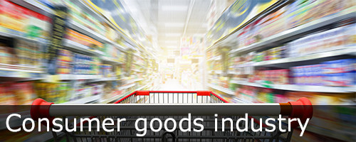 Consumer-goods-industry optimization